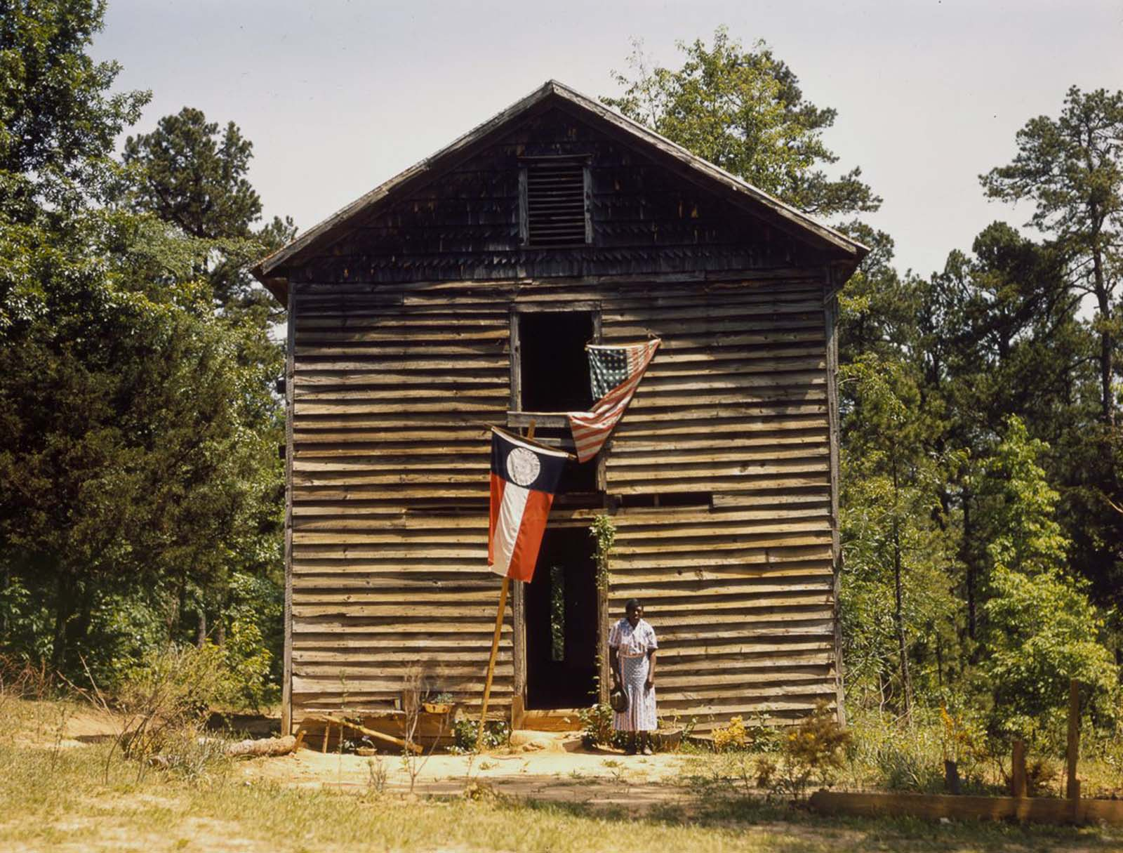 A sharecropper near White Plains, Georgia. 1941.