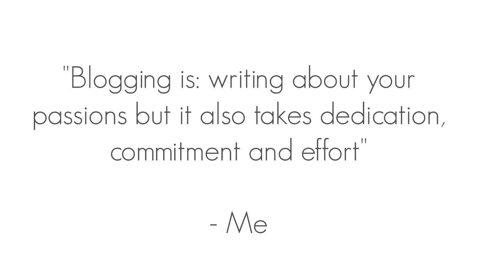 blogging quote myself