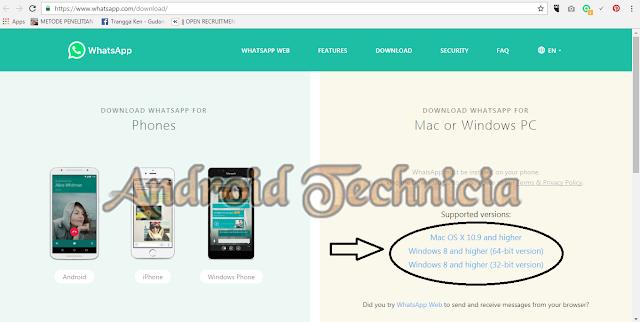 Cara Menggunakan Whatsapp di PC/Laptop Tanpa Bluestack