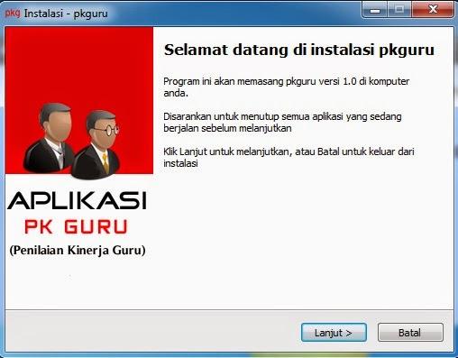 APLIKASI PK GURU 2014