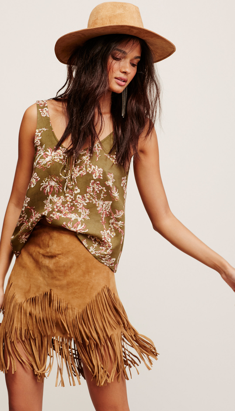 Free People Rose Cami