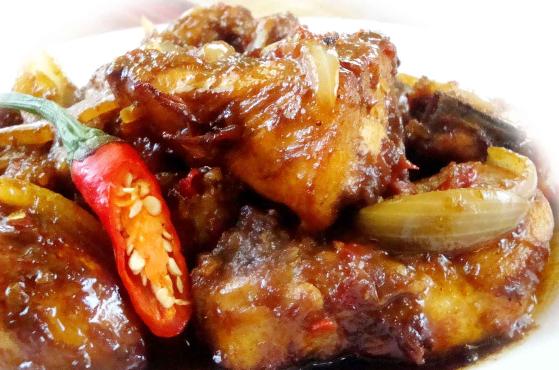 Resep Ayam Kecap Pedas Asam Manis