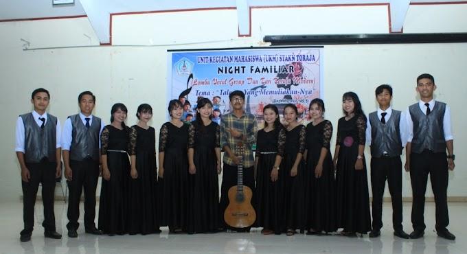 3 Kali Meraih Juara 1, HMA 2015 Menjadi Juara Bertahan Lomba Vocal Group UKM STAKN Toraja