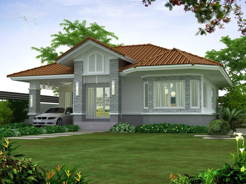 100 photos of beautiful tiny bungalow small houses bahay ofw. Black Bedroom Furniture Sets. Home Design Ideas