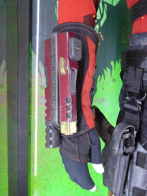 Deadshot Suicide Squad wrist gauntlet