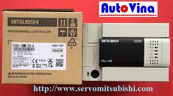 Đại lý phân phối, mua bán PLC Mitsubishi FX3U-16MR/ES-A. Bảng giá PLC Mitsubishi tại Hà Nội