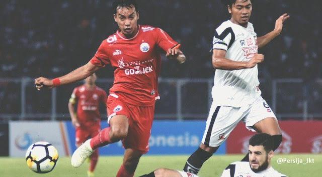 Persija Jakarta vs Madura United 0-2