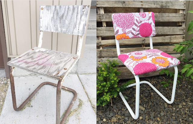 The Ultimate Ugly Roadside Rescue Chair Makeover