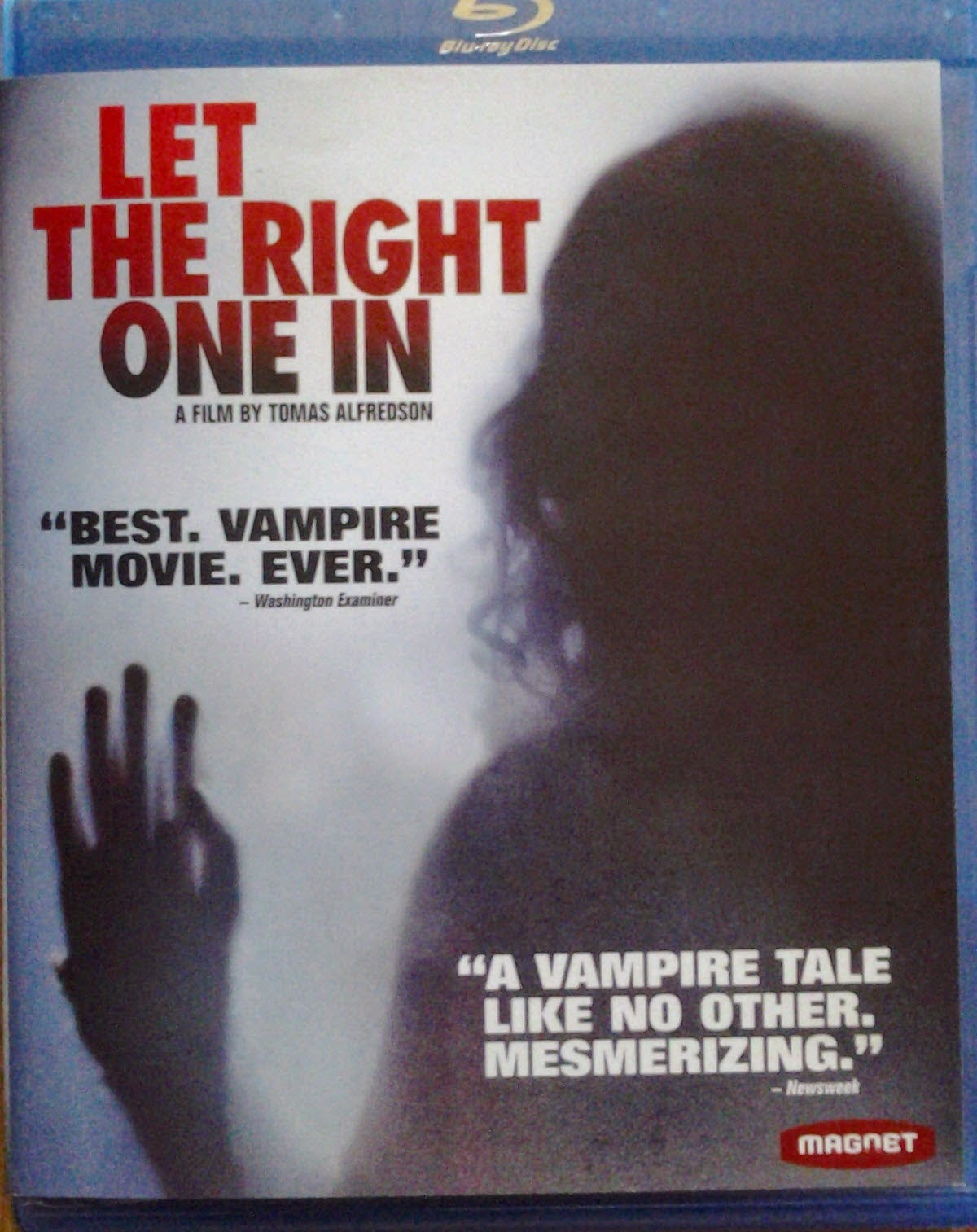 DVD Cover - Let the Right One In