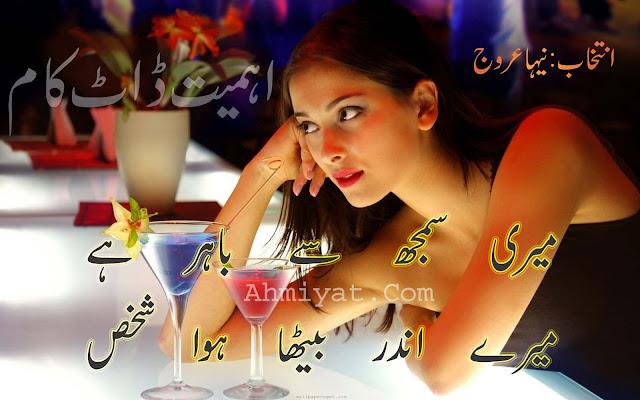 Meri Samaj Se Bahir hai Urdu Poetry