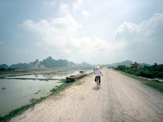 Vietnamita en Bicicleta