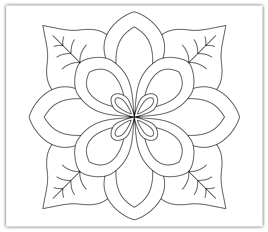 Imaginesque: Flower Patterns