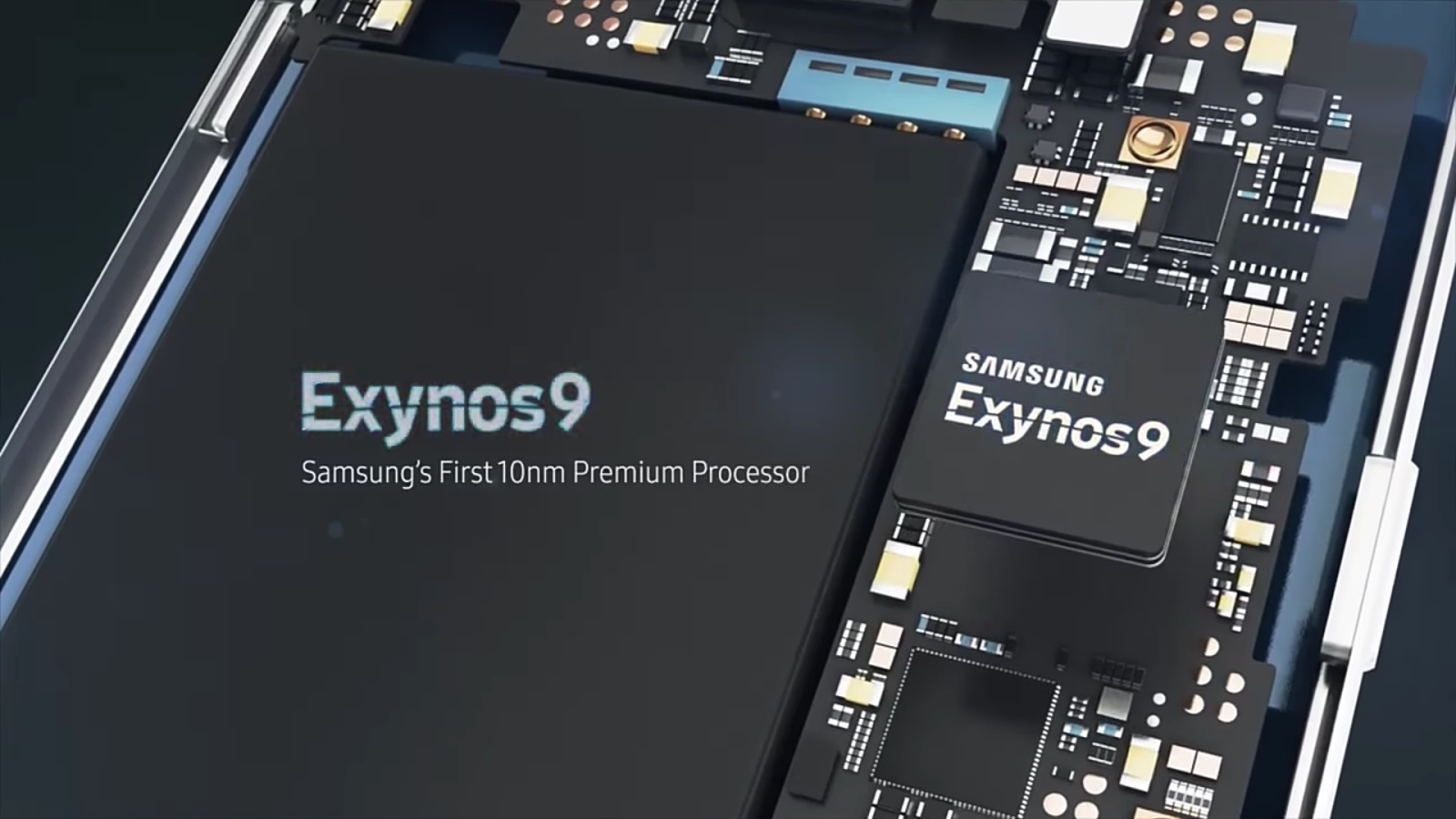 Samsung galaxy s9 exynos processor