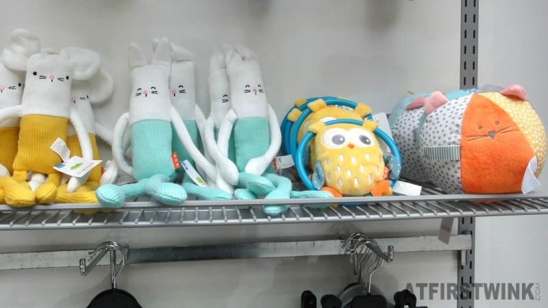 HEMA baby toys bunny mousse owl cat