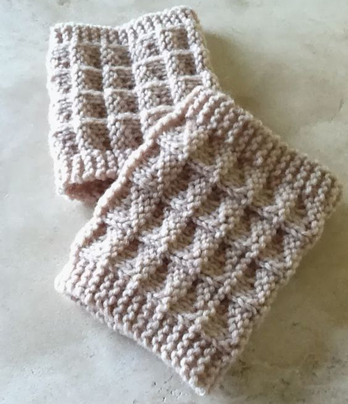 Boot Toppers / Cuffs - Free Pattern