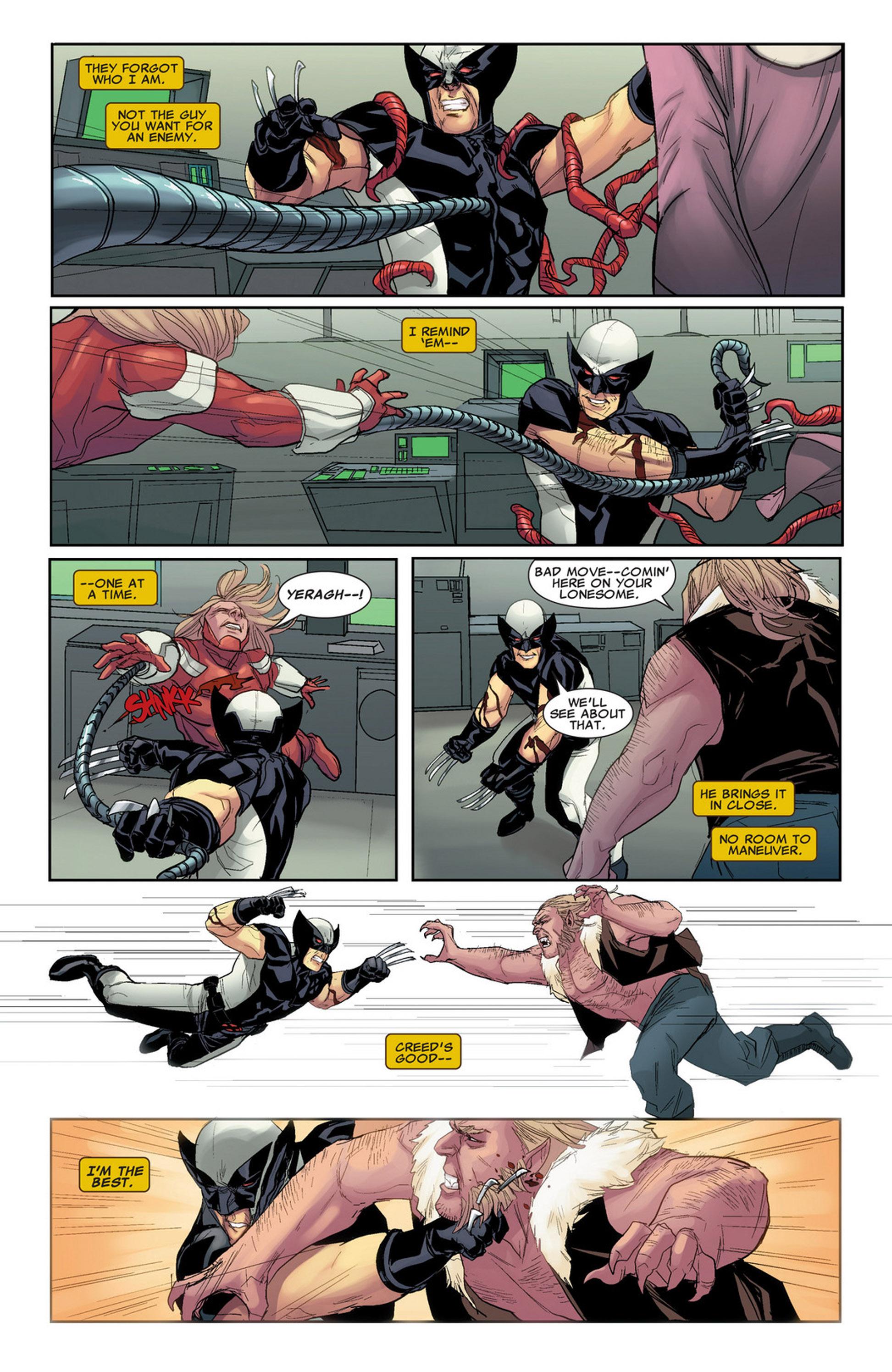 Uncanny X-Force (2010) #32 #34 - English 21