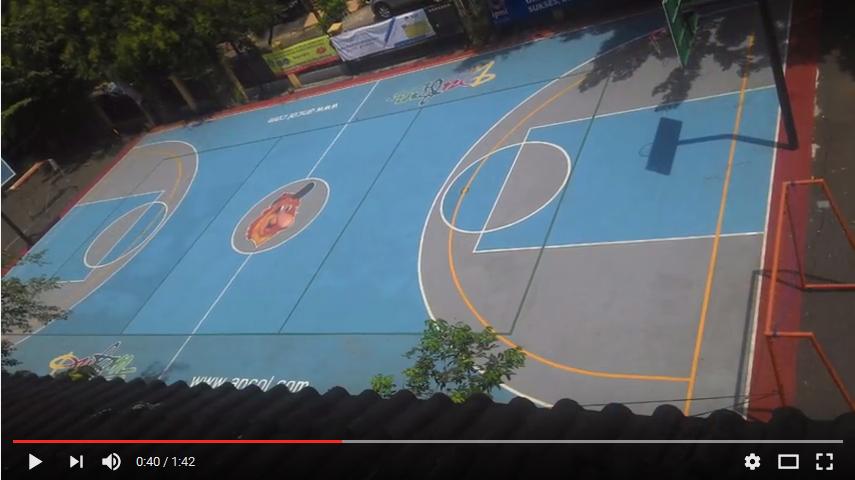 Harga Pengecatan Lapangan Basket, Cat Lapangan Basket, Cat Lapangan Basket Outdoor, Cat Untuk Lapangan Basket, Harga Cat Lapangan Basket, Harga Cat Tennokote