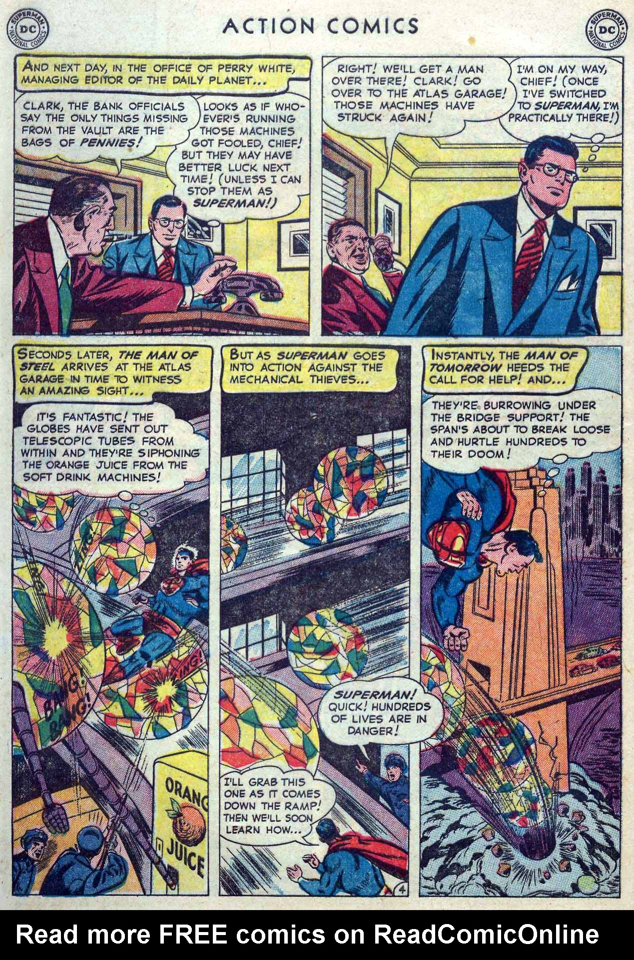 Read online Action Comics (1938) comic -  Issue #167 - 6