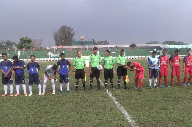[Liga Santri] Manfaatkan Kelelahan Lawan, Nurul Fauzi Libas Hamzan Wadi 2-0