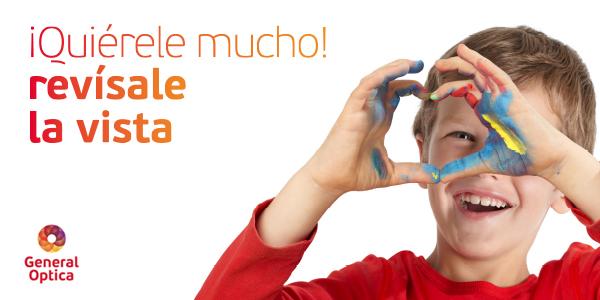 "Campaña de salud visual infantil ""Quiérele mucho"""
