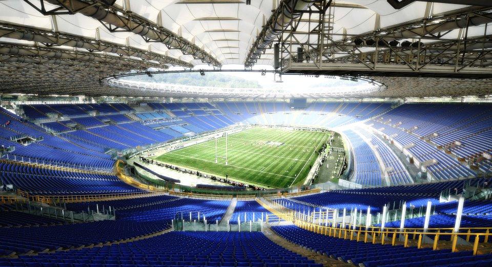 video italia rugby regolamento stadio olimpico roma