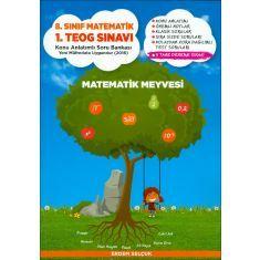 Matematik Meyvesi 8.Sınıf Matematik 1.TEOG Sınavı Konu Anlatımlı Soru Bankası (2017)