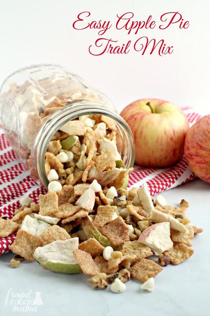 snack recipes, trail mix recipes, apple recipes
