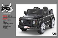 Mobil Mainan Aki Wimcycle SUV RR Land Rover