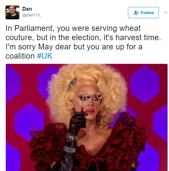 4 - 10 of the Funniest Tweets About the U.K. Election
