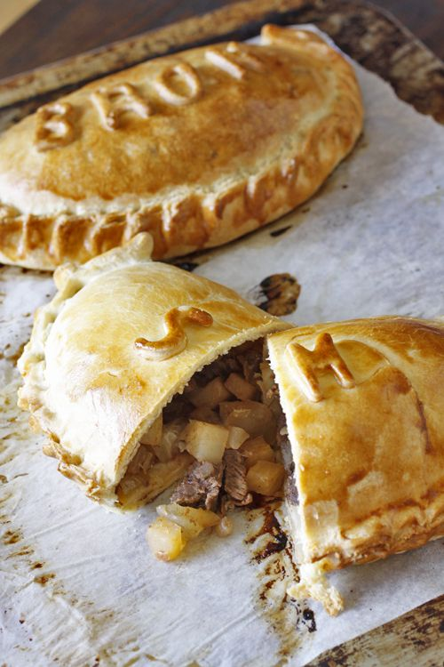 Classic Cornish Pasties. The pasty's best known association stems from the 1800s when it evolved to meet the needs of the Cornish tin miners. The pasty was a complete, hand-held hot meal, usually consisting of meat, potato, onion and swede in a pastry casing
