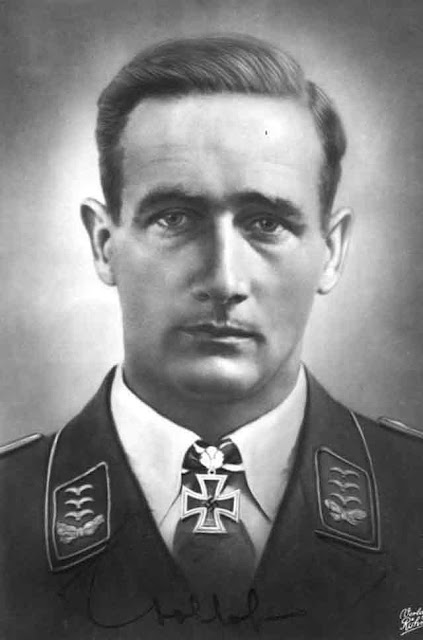 Hauptmann (Captain) Gordon Mac Gollob, 26 October 1941 worldwartwo.filminspector.com