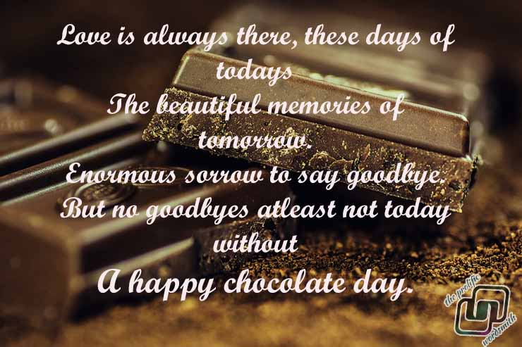 the chocolate day
