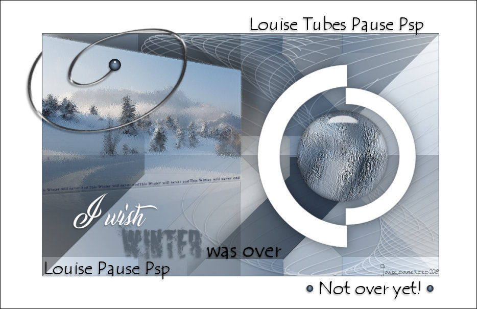 Louise's Tubes Pause-Psp