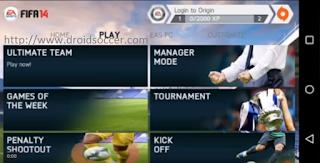 FIFA 14 v1.3.6 Mod 18 v2 by JOGRESS Apk + Obb