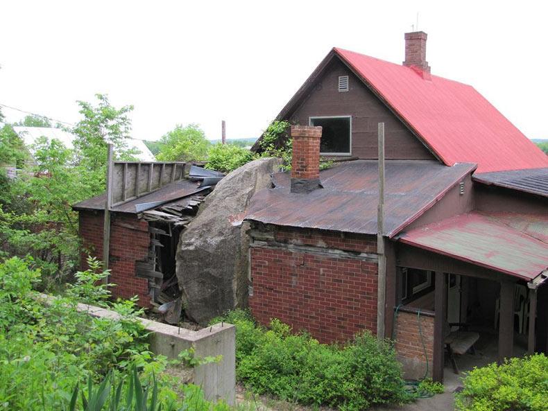 La roca en la casa | EE.UU.
