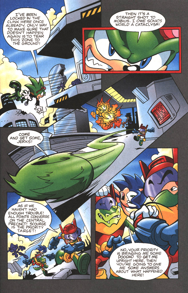 Read online Sonic The Hedgehog comic -  Issue #197 - 13