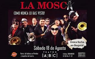 CONCIERTO de LA MOSCA en Bogotá 2018
