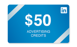 [GIVEAWAY] $50 In Advertising Credits [LinkedIn] [+75€ Google AdWords]
