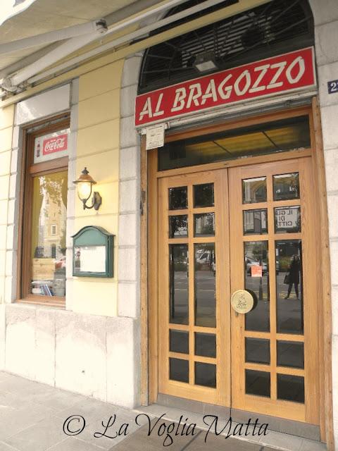 """Ristorante """" Al Bragozzo """" Trieste"""