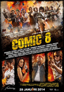 FREE Download Film Indonesia Comic 8 (2014)