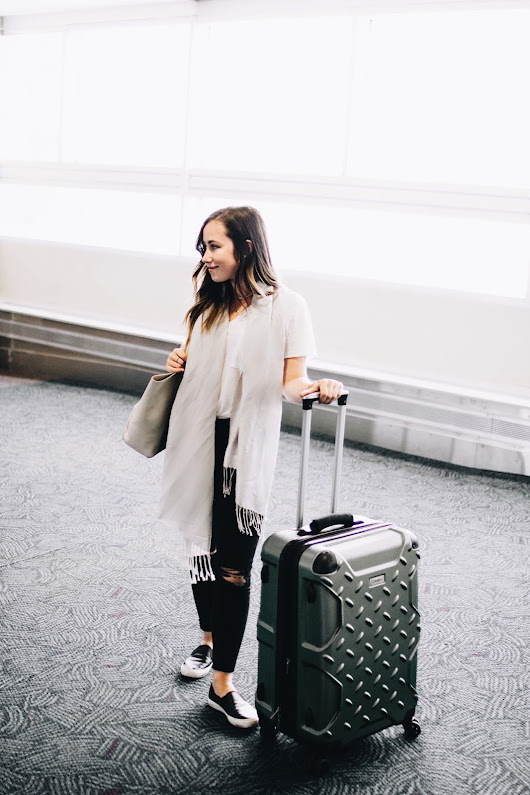 6 AIRPORT TIPS THAT WILL CHANGE HOW YOU TRAVEL + AN OUTFIT