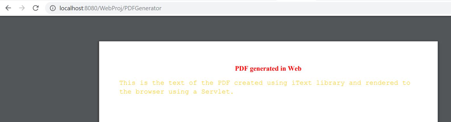 Creating PDF in Java Using iText | Tech Tutorials