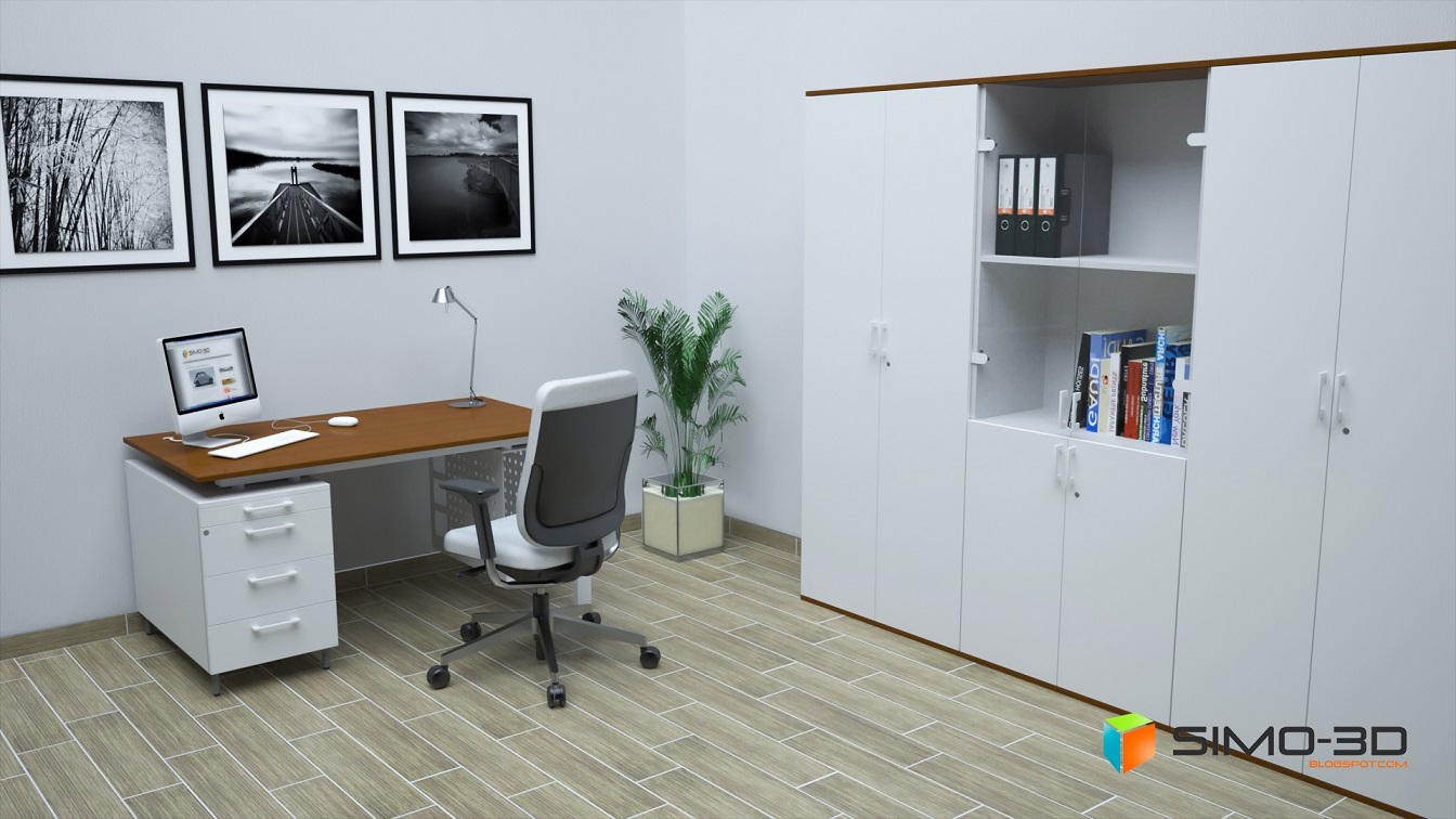 Simo 3d Blogspot Com Modelli 3d Sketchup Mobili Per Ufficio