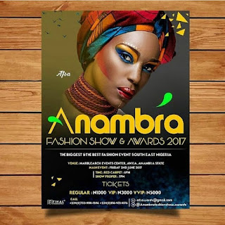 Nominees list for anambra fashion show and awards