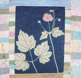 Sue Reno, Japanese Anemone, detail 1