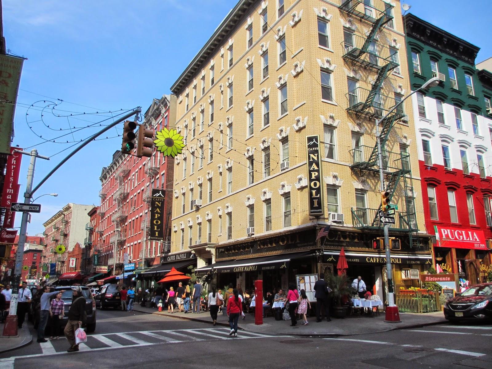Visitar o bairro de LITTLE ITALY em Nova Iorque | EUA