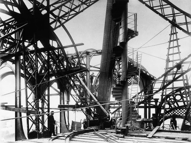 Because of Eiffel's safety precautions, including the use of movable stagings, guard-rails and screens, only one person died during construction.