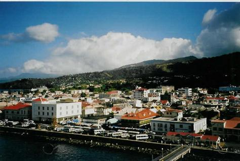 Roseau, Capital de Dominica