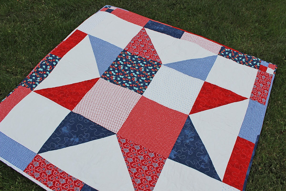 Mostly Crafty: Yankee Doodle Star