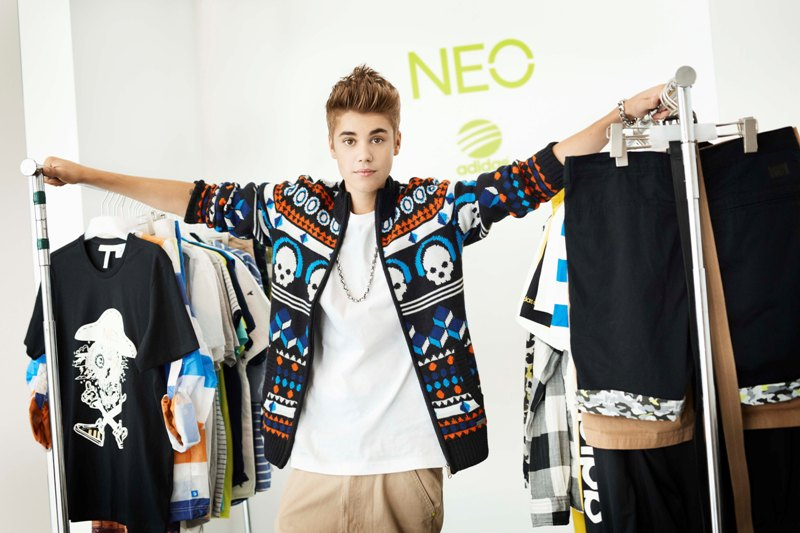 0115fece51 Justin Bieber As adidas NEO Label New Style Icon